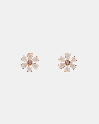 Short Story Earrings Flower