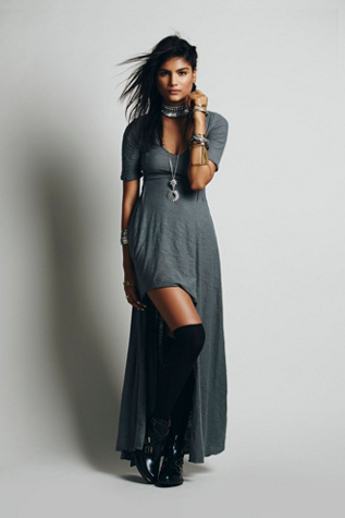 Free People Sunlit Gown Maxi