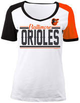 5th & Ocean Women's Baltimore Orioles CB Sleeve T-Shirt