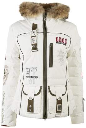 Bogner White Fur Coats
