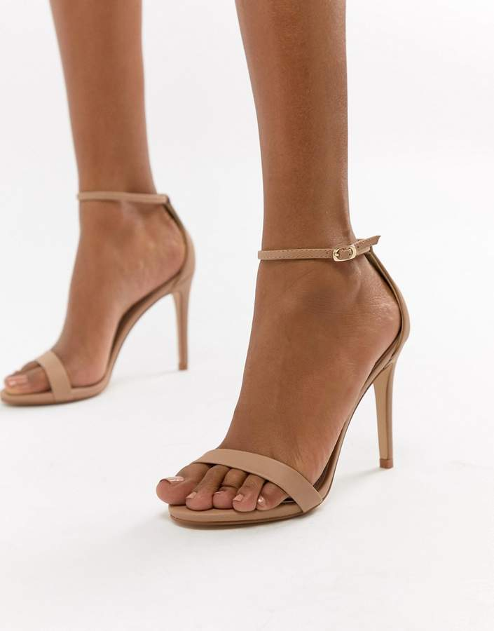 05ec69e004a Stecy Blush Barely There Heeled Sandals