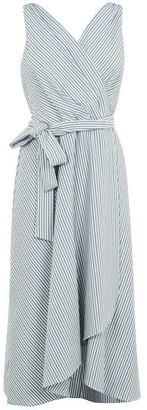 DKNY Occasion Faux Wrap Dress