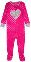 Carter's DOT WITH HEART Pyjamas pink