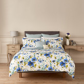 Christy Poppy Duvet Cover - Blue - Super King