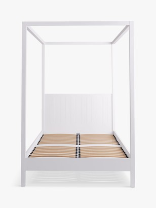 John Lewis & Partners St Ives Canopy Bed Frame, FSC Certified (Oak, Birch, Oak Veneers, MDF), Double
