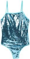 Sequin One-Piece Swimsuit (Big Girls)