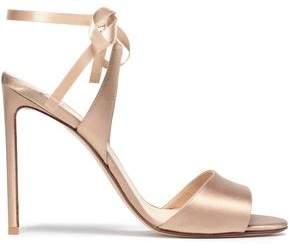 Francesco Russo Satin Sandals