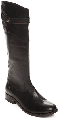 Frye Women's Casual boots BLACK - Black Molly Button Tall Leather Boot - Women