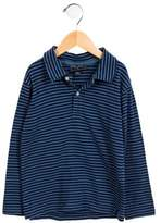 Oscar de la Renta Boys' Striped Long Sleeve Shirt