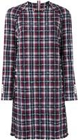 Thom Browne Tweed Check Shift Dress
