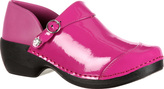 Women's 4EurSole Patent Leather Clog RKH050