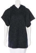 Isabel Marant Virgin Wool Hooded Sweater
