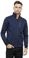 Kenneth Cole Long-Sleeve Bonded Zip Up