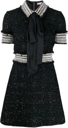 RALPH & RUSSO Short-Sleeve Mini Dress