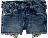 True Religion Bobby Printed Pocket Shorts Girl's Shorts