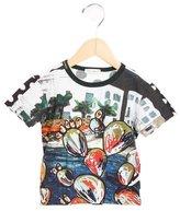 Dolce & Gabbana Boys' Graphic Print Short Sleeve Shirt