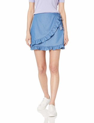 CG JEANS Cute Ripped Short Pencil Jeans Skirt for Women