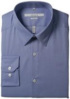 Perry Ellis Men's Portfolio Two Color Twill Dress Shirt