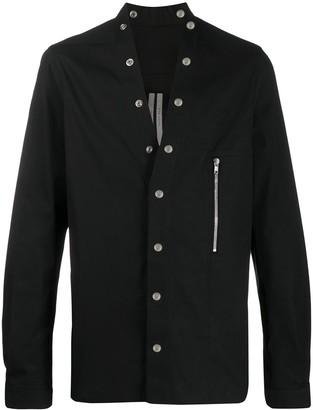 Rick Owens Larry snap-button shirt