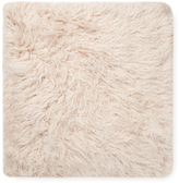 Mauve Tibetan Lamb Faux Fur Pillow