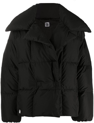 Bacon Dahlia oversized down jacket