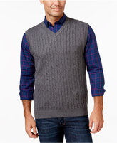 Club Room Men's Cable-Knit Sweater Vest, Only at Macy's