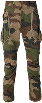 Faith Connexion camouflage biker cargo trousers