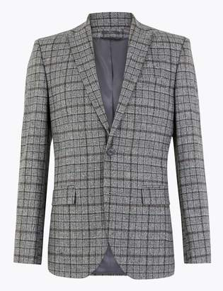 M&S CollectionMarks and Spencer Tailored Fit Italian Wool Blend Jacket
