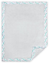 Just Born Classic Collection Cuddle Plush Blanket in Grey