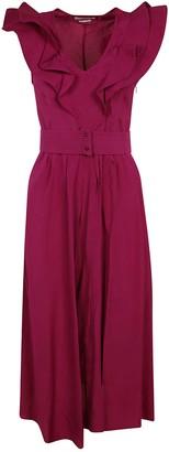 Isabel Marant Sleeveless Ruffled Long Dress