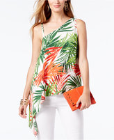 INC International Concepts One-Shoulder Top, Only at Macy's