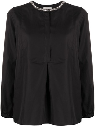 3.1 Phillip Lim Embellished Collar Shirt