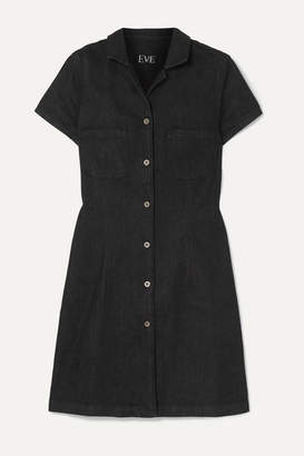 Eve Denim The Carlotta Denim Mini Dress - Gray