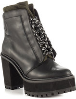Shellys London Celee - Black Leather