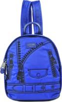 Moschino Small Backpack Trompe L'oeil Biker