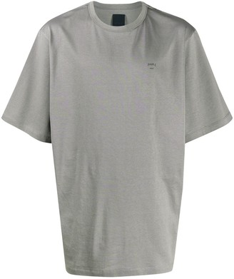 Juun.J graphic back print T-shirt