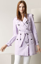 Crinkled All Weather Trench