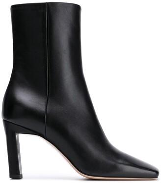 Wandler Isa square-toe boots