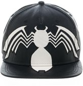 Bioworld Men's Licensed Marvel Venom Suit Up PU Leather Snapback Hat