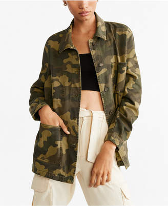 MANGO Military-Inspired Style Jacket