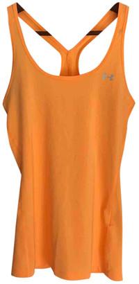 Under Armour Orange Cotton Tops