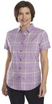 Woolrich Women's Kansa Creek Plaid Short Sleeve Shirt