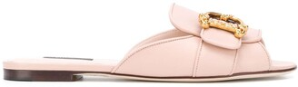 Dolce & Gabbana peep-toe mules