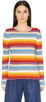 Chloé Striped Cotton Jersey T-Shirt