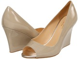 Kate Spade Carmine (Linen Patent) - Footwear
