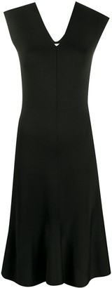 Victoria Beckham V-neck knitted dress