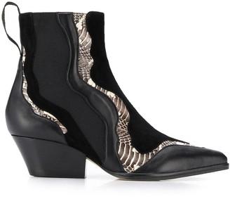 Sergio Rossi Carla ankle boots