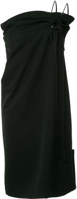 Comme Des Garçons Pre-Owned Drawstring One Shoulder Dress