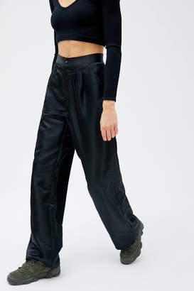 Urban Renewal Vintage Remnants Satin Wide Leg Trouser Pant