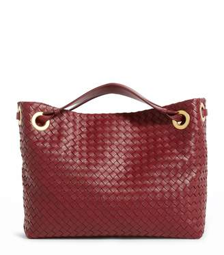 Bottega Veneta Large Leather Garda Bag